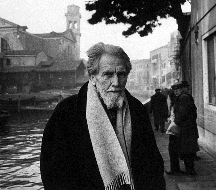 Ezra Pound (1963) https://en.wikipedia.org/wiki/Ezra_Pound