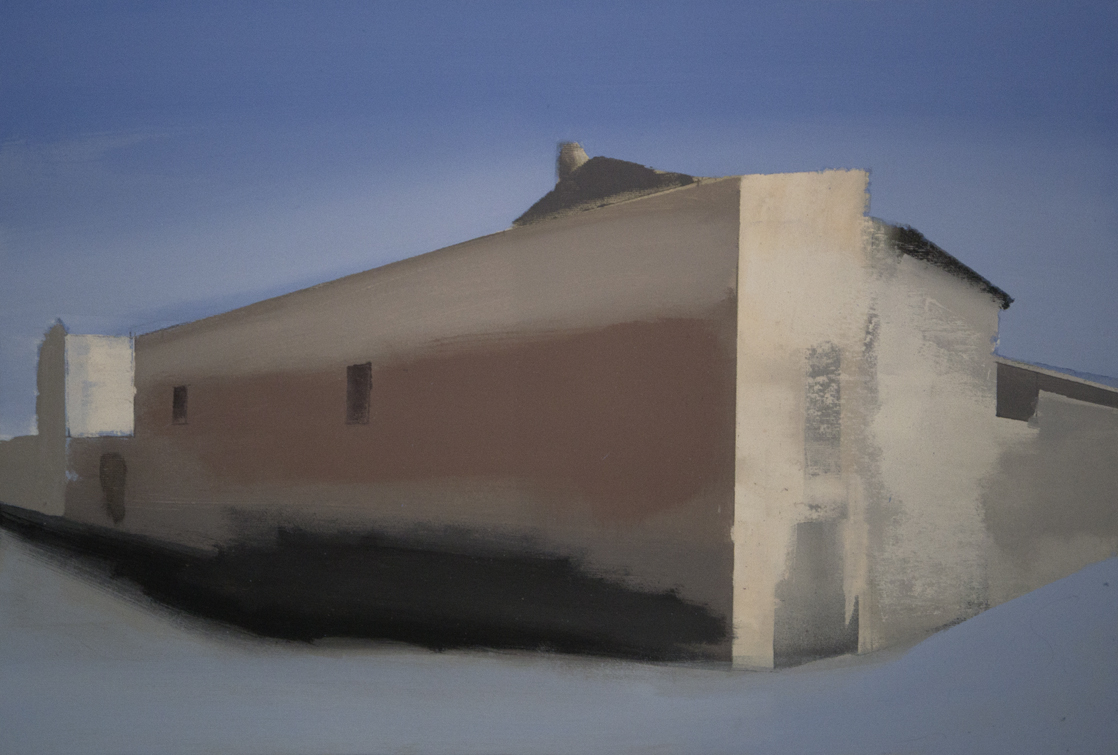 Oil on canvas 50 x 73 cm